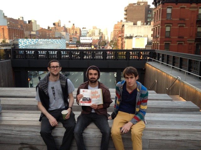 Bouts High Line. Low Rent