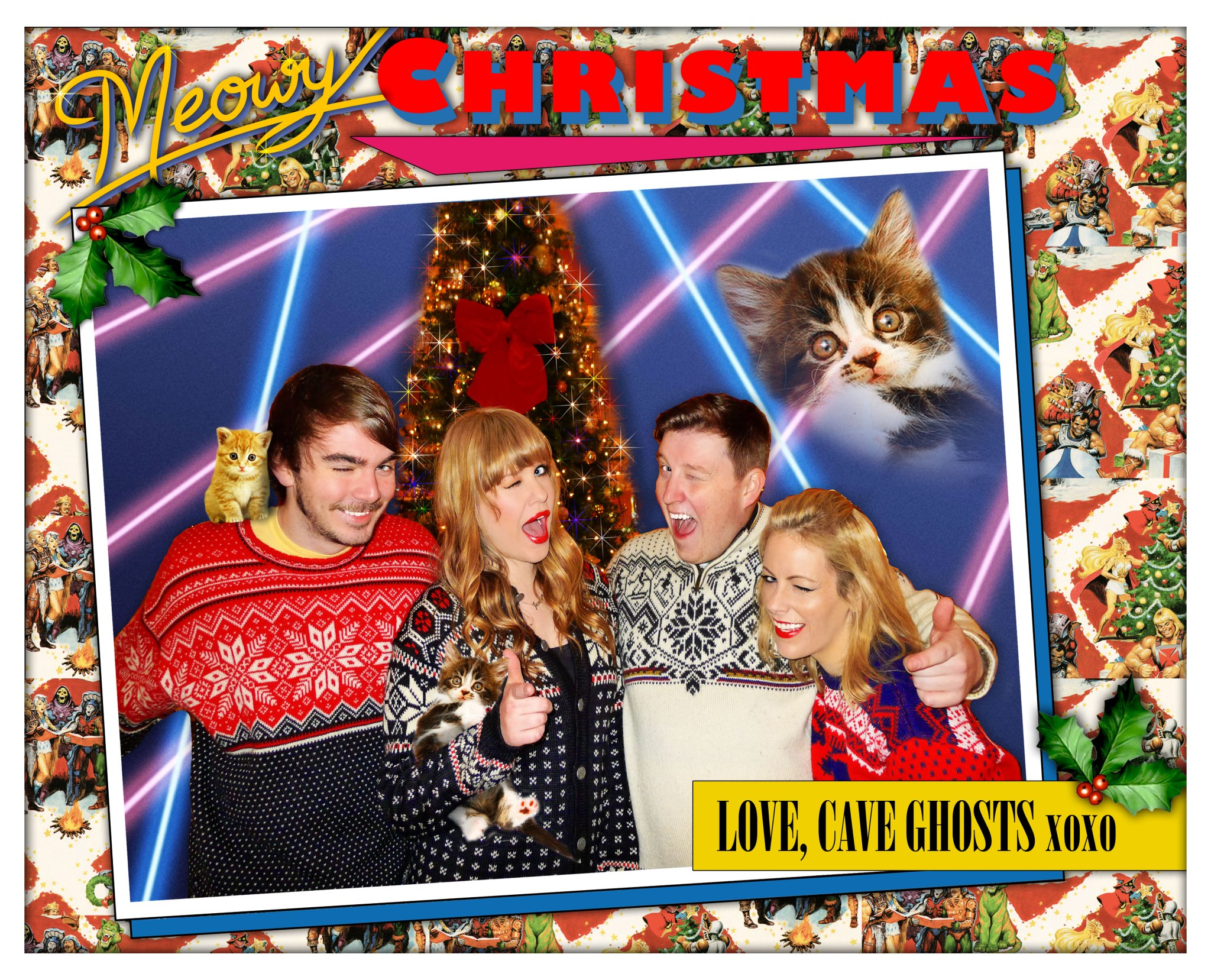 The Best Christmas Card From An Irish Band You\'re Going To See This ...