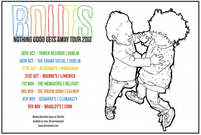 bouts tour poster 2013