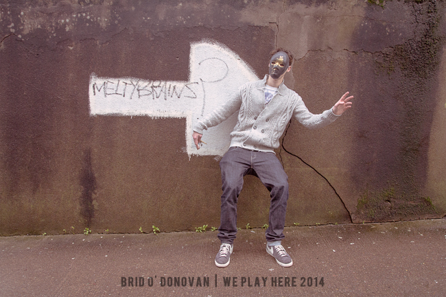 Meltybrains? exclusively shot for We Play Here 2 by Bríd O'Donovan,