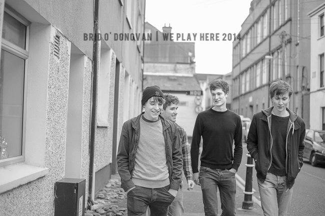 The Careers, exclusively shot for We Play Here 2 by Bríd O'Donovan