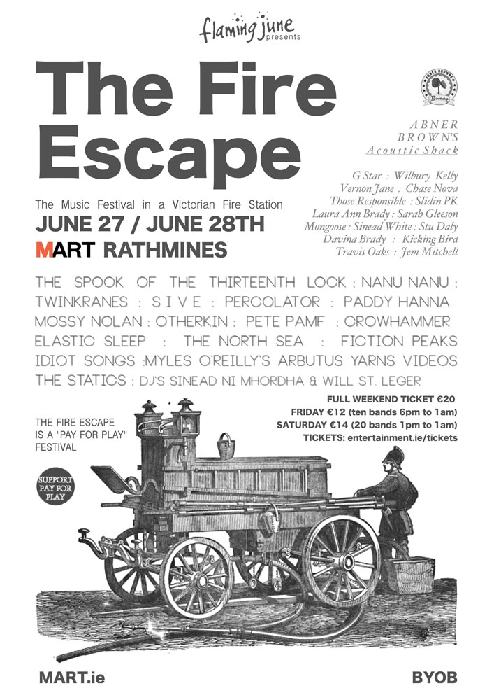 fire escape festival